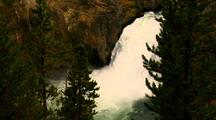 109-Foot High Upper Falls Yellowstone National Park
