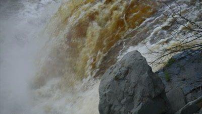 Raging River Flood Water