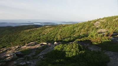 View of Acadia National Park