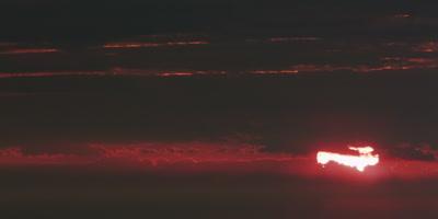 Sunrise from Mount Cadillac, Acadia National Park, Maine