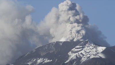 Calbuco Volcano Eruption Time-lapse, Puerto Varas, Chile