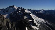 High Rugged Mountain Peak