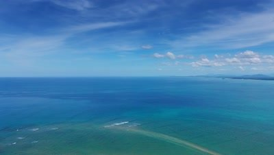 All Ocean Aerial Stock Footage