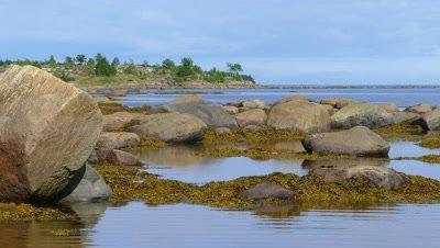 Northern White Sea in Karelia, Russia, 4k
