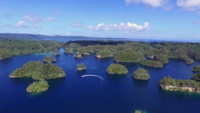 Raja Ampat from above - Video Decor Reel