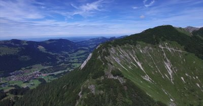 Aerial of south German alps - Video Decor Reel