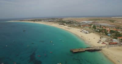 Aerial footage from Cabo Verde