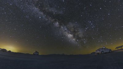 A beautiful night sky milky way shot captured at Dantes View, Death Valley National Park California