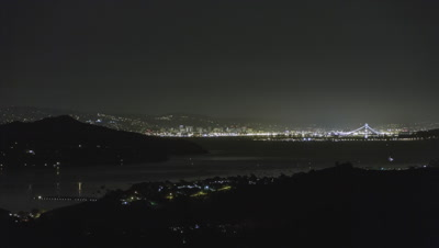 Richardson Bay, San Fransisco Night timelapse
