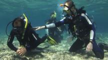 Scuba Diving Class, Fin Pivot Skill