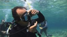 Scuba Diving Class, Regulator Freeflow Skill