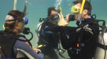 Scuba Diving Class, Buddy Breathing