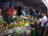 Fruit And Vegetable Market In Kaw Thaung, Myanmar