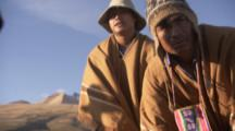 Indigenous People Gather For Ritual Sacrifice Of Alpaca