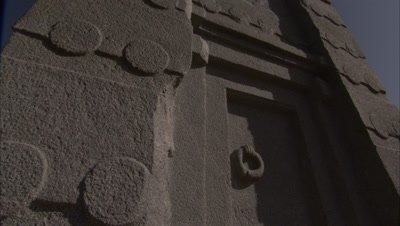 Ancient Carved Stone Stele In Axum