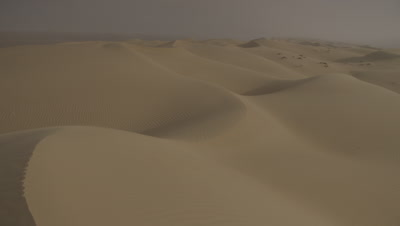 Sand Dune Scenic of Sharqiya or Wahiba Sands