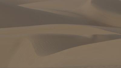 Panorama Desert Sand Dunes