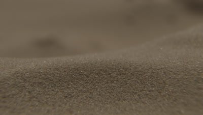 Close Up,Wind Blows Sand In Desert