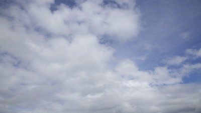 Time Lapse,Clouds Move in Sky