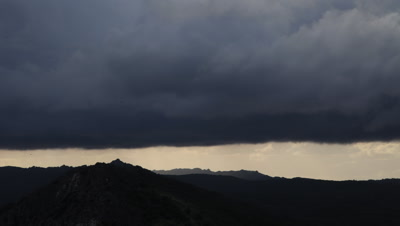 Timelapse of clouds over Monfrague National Park
