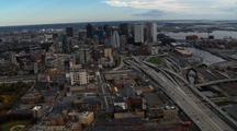 Aerial Boston Skyline