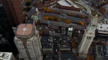 Boston Faneuil Hall From Above