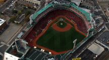 Fenway Ball Park From Above