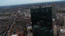 John Hancock Tower Boston From Above