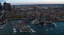 Boston Waterfront From Above