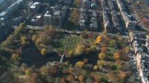 Fly Over Boston Park