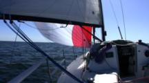 Sailing Down Wind Single Handed