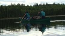 Paddling Canoes Kenai Canoe Trail Swanson River Alaska