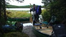 Preparing Canoes Kenai Canoe Trail Swanson River Alaska