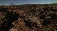 Desert Landscape Near Lake Bindegolly