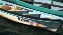 Zm Fishing Pangas, Pullback To Playa Principal, And Village