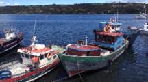 Port Of Castro, Isla Grande De Chiloe, Chile
