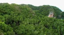 Aerial, Over Ridge, Los Haitises, Dominican Republic