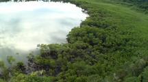 Aerial, Over Mountain, Los Haitises, Dominican Republic