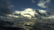 Over-Under Ocean Surface, Sunrise Rebirth