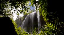 Waterfall Surrounded By Jungle, Palau