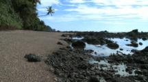 Costa Rica Beach Scene Golfo Dulce