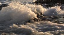 Rushing Tidal Water In Slo-Mo