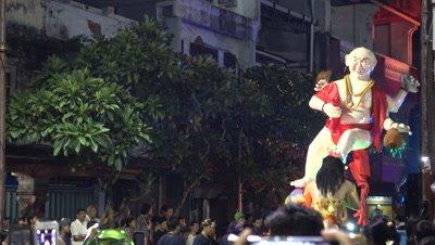 Ogoh-Ogoh parade preceding Nyepi in Denpasar, 8th of March 2016
