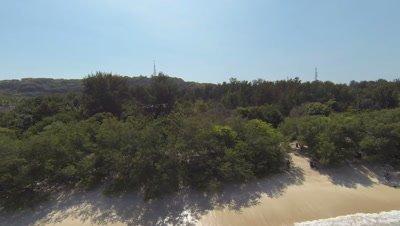 Gili Trawangan, Lombok, aerial shot
