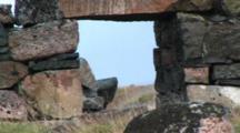 Remains Of A Viking Church Near Hvalso, Greenland