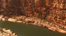 Crocodile In Red River Canyon