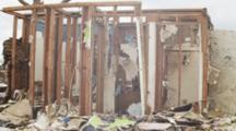 Tornado Damage - Moore, Ok 2013 - Hand Held Reveal