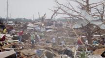 Tornado Damage - Moore, Ok 2013 - People Working