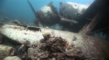 Wreck Of Japanese Sea Plane