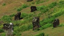 Moai Statue Heads Easter Island